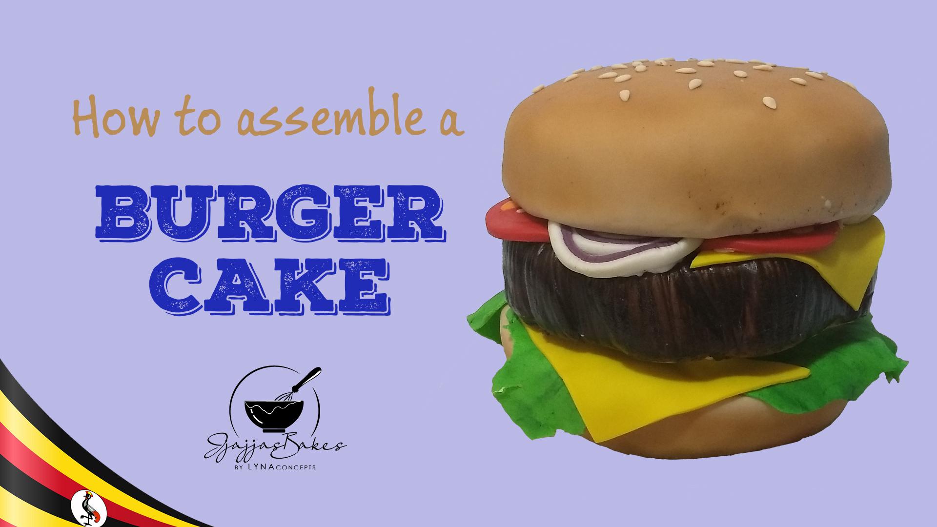 JjajjasBakes_By_LYNAconcepts_Tutorial_Assembling_A_Burger_Cake_YouTube